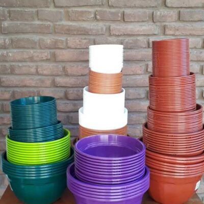 Maceta plástica BOWL TA plastic N 12